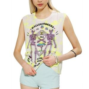 Hallucinogens Are Better With Friends Muscle Tee